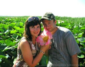 Пара в долине лотосов